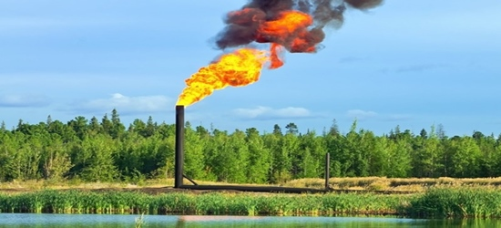 Oilfield Gas Flaring 1